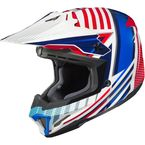 Red/White/Blue CL-X7 Hero MC-21 Helmet - 754-214