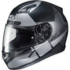 Semi-Flat Black/Silver CL-17 Boost MC-5SF Helmet - 852-755