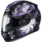Purple/Black CL-17 Cosmos MC-11 Helmet - 854-113