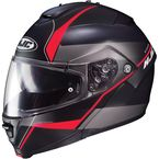 Semi-Flat Black/Red IS-Max2 Mine MC-1SF Helmet - 990-714