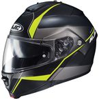 Semi-Flat Black/Neon Green IS-Max2 Mine MC-3HSF Helmet - 990-734
