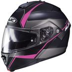 Semi-Flat Black/Pink IS-Max2 Mine MC-8SF Helmet - 990-784