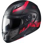 Semi-Flat Black/Red CL-MAXBT 2 Friction MC-1SF Helmet - 996-714