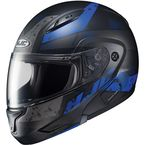 Semi-Flat Black/Blue CL-MAXBT 2 Friction MC-2SF Helmet - 996-721