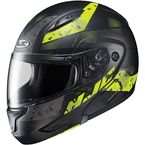 Semi-Flat Black/Neon Green CL-MAXBT 2 Friction MC-3HSF Helmet - 996-734