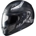 Semi-Flat Black/Gray CL-MAXBT 2 Friction MC-5SF Helmet - 996-754