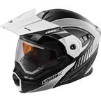Flat White/Black EXO-CX950 Apex Snow Helmet w/Electric Shield - 45-29106