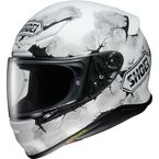 Matte White/Black/Gray RF-1200 Ruts TC-6 Helmet - 0109-2806-06