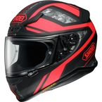 Matte Black/Red RF-1200 Parameter TC-1 Helmet - 0109-3001-06