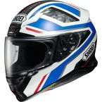 Blue/White/Gray Camo RF-1200 Parameter TC-2 Helmet - 0109-3002-05