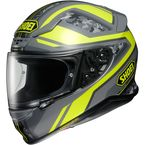 Hi-Vis Yellow/Gray Camo RF-1200 Parameter TC-3 Helmet - 0109-3003-06