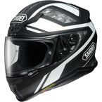 Matte Black/White/Gray Camo RF-1200 Parameter TC-3 Helmet - 0109-3005-06
