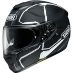 Matte Black/Gray/White GT-Air Pendulum TC-5 Helmet - 0118-2005-06