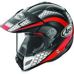 Black/Red/White Multi-Colored XD4 Mesh Helmet - 807382