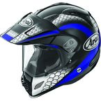 Black/Blue/White Multi-Colored XD4 Mesh Helmet - 807392