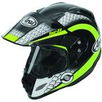Black/Neon Green/White Multi-Colored XD4 Mesh Helmet - 807402