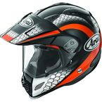 Black/Orange/White Multi-Colored XD4 Mesh Helmet - 807422