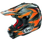 Orange/Black/Yellow VX-Pro 4 Dazzle Helmet - 807452