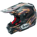Brown/Black/Gold VX-4 Pro 4 Dazzle Helmet - 807462