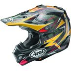 Black/Yellow/Red Multi-Colored VX-Pro 4 Tickle Trophy Girl Helmet - 807493