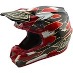 Black/Red Maze SE4 Carbon Helmet - 102492242