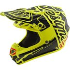 Youth Yellow/Black Factory SE4 Helmet - 112008504