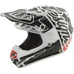 Youth White/Black Factory SE4 Helmet - 112008104