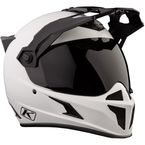 Element Matte White Krios Karbon Adventure Helmet - 3510-000-140-001