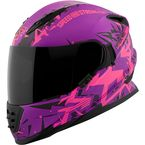 Pink/Pruple Critical Mass SS1600 Helmet - 1111-0600-0153