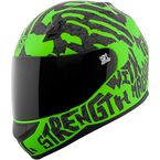 Green/Black Rage With The Machine SS700 Helmet - 1111-0602-1354