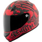 Red/Black Rage With The Machine SS700 Helmet - 1111-0602-0953