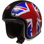 Red/White/Blue Kurt Bobber Union Helmet - 588-1034