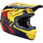 Navy/Yellow Youth Sector Richochet Helmet - 0111-1095