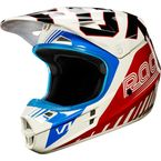 Blue/Red V1 Fiend SE Helmet - 18990-149-L