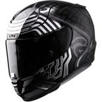 Semi-Flat Black/Chrome RPHA-11 Pro Star War Series Kylo Ren MC-5SF Helmet - 1662-754