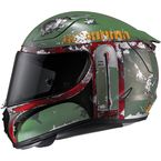 Semi-Flat Green RPHA-11 Pro Star Wars Series Boba Fect MC-4SF Helmet - 1666-744