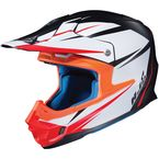 Semi-Flat White/Black FG-MX Axis MC-5SF Helmet - 360-754