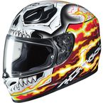 Red/White/Black FG-17 Marvel Ghost Rider MC-1 Helmet - 650-914