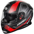 Black/Matte Red Thunder 3 SV Trace Helmet - 36-1416
