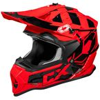 Red Mode MX Stance Helmet - 35-2016