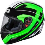 Green Mugello Maker Helmet - 36-0346