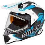 Process Blue Mode Dual-Sport SV Team Snow Helmet w/Electric Shield - 35-23728