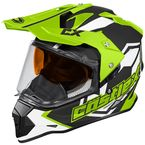 Hi-Vis Mode Dual-Sport SV Team Snow Helmet - 35-13736
