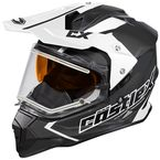 Black Mode Dual-Sport SV Team Snow Helmet w/Electric Shield - 35-23754