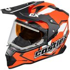 Flo Orange Mode Dual-Sport SV Team Snow Helmet w/Electric Shield - 35-23764