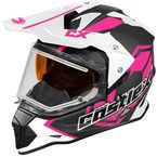 Pink Mode Dual-Sport SV Team Snow Helmet w/Electric Shield - 35-23786