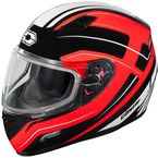 Red Mugello Maker Snow Helmet - 36-10314