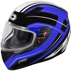 Blue Mugello Maker Snow Helmet - 36-10321
