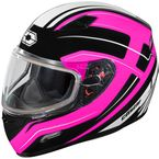 Pink Mugello Maker Snow Helmet - 36-10384