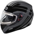 Black Mugello Maker Snow Helmet w/Electric Shield - 36-20356